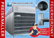 Bauzaun Profi BUSINESS - Set inkl. Transportpalette